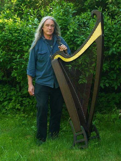 Volkert Volkmann Harfenspieler